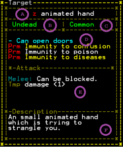 A description of an animated hand.